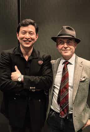 Wei Koh with Iain English
