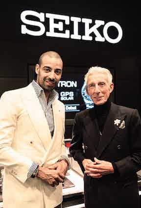 Alain Gafundi with Edward Sexton