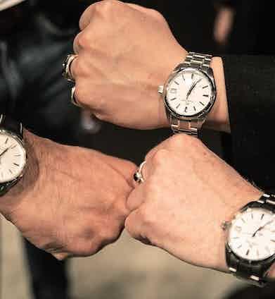 Grand Seiko wristshots.