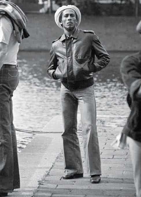 By the canal in Amsterdam in 1976 (Photo by Gijsbert Hanekroot)