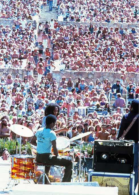 Performing in 1980 Photo by Media Press/Shutterstock (78277e) BOB MARLEY VARIOUS - 1980