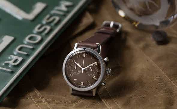 UNDONE × REVOLUTION TROPICAL TYPE 20 CHRONOGRAPH, LAUNCHED IN CONJUNCTION WITH THE DISTINGUISHED GENTLEMAN'S RIDE FUNDRAISER 2020