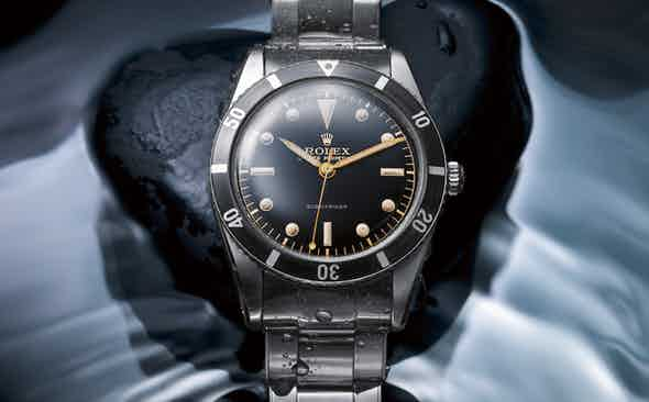 The evolution of the Rolex Submariner