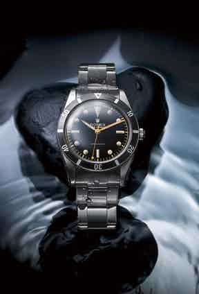 The first Submariner, from 1953.