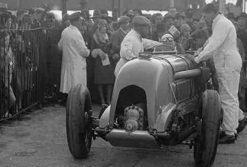Birkin at Brooklands, 1930. Photo by National Motor Museum/Heritage Images/Getty Images.