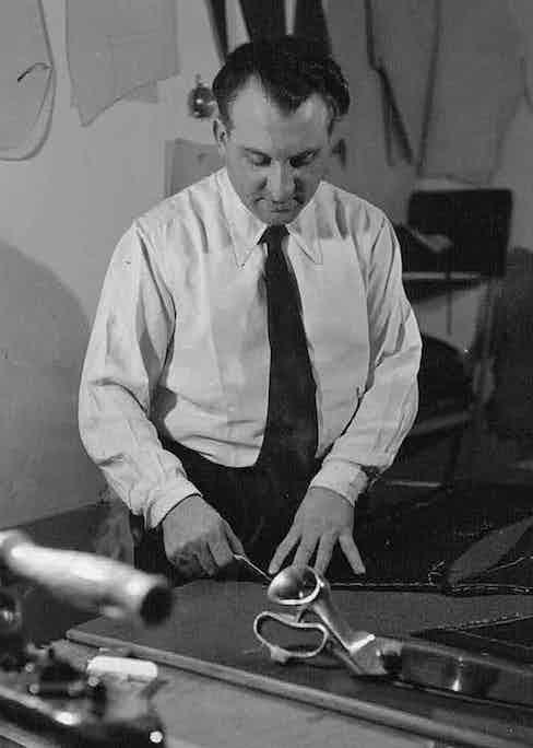 Arturo in his workshop