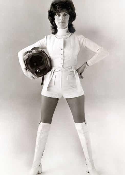 Shirley Muldowney, 1973.