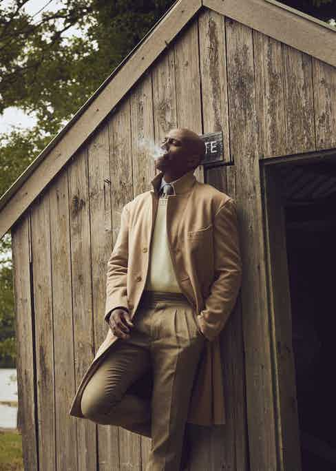 Photography by Kim Lang; fashion directon by Amelia Hudson; modelled by Richard Ampaw.