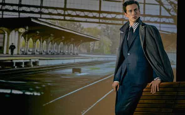 How Lardini remained firmly on the rails with its AW20 collection