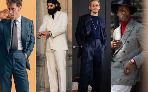 The Rake's Ambassadors Don The Rake Tailored Garments
