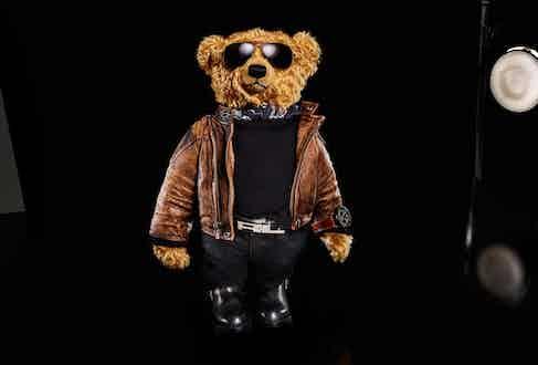 The Ralph Lauren x Palace Pilot Bear.