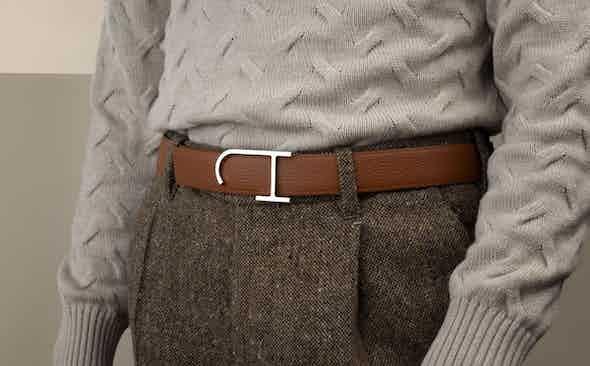 J.Hopenstand: Resplendent leather belts