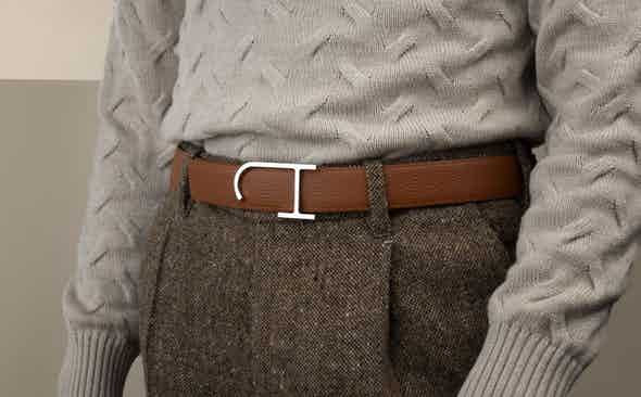 J.Hopenstand: Resplendent leather belts