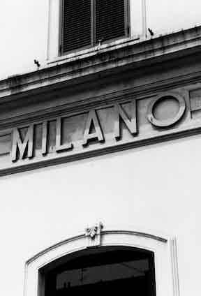 Milan store.