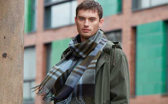 Why one Joshua Ellis scarf is never enough