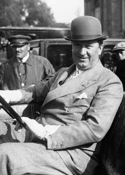 Ettore Bugatti in 1926.