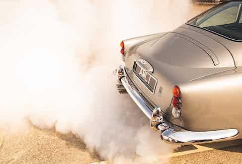 The smokescreen in action.