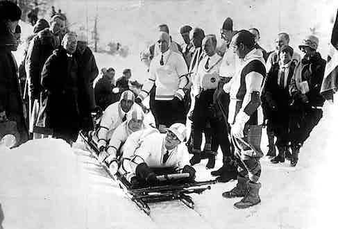 Winter Olympics 1928 Photo by ullstein bild/ullstein bild via Getty Images)