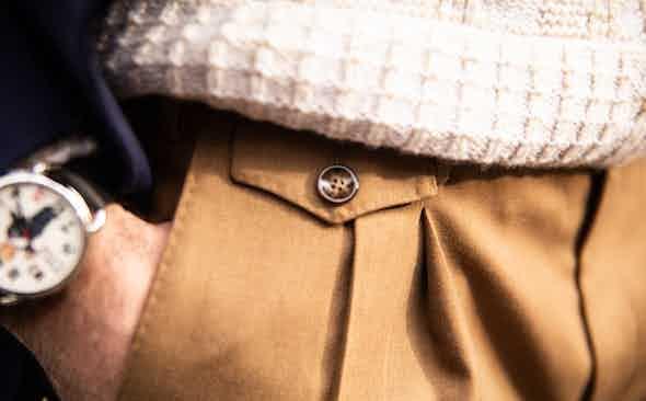 Pantaloni Torino: Never Slacked on Trousers