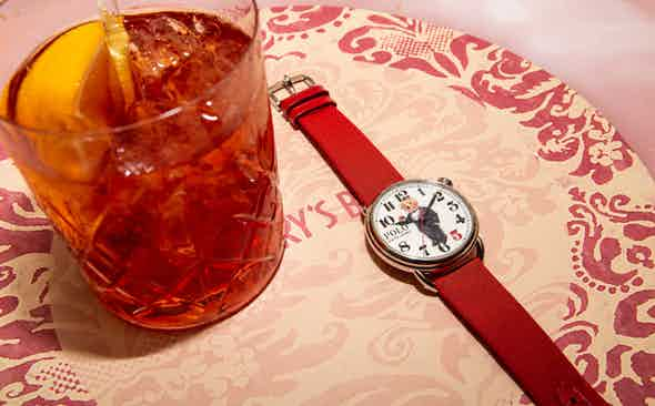 The History of The Negroni and THE RAKE X RALPH LAUREN 'NEGRONI BEAR' POLO BEAR WATCH
