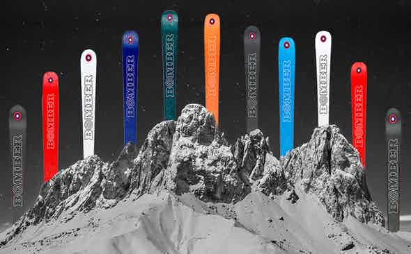 Bomber Skis: Celestial Alpine Ski Accoutrements