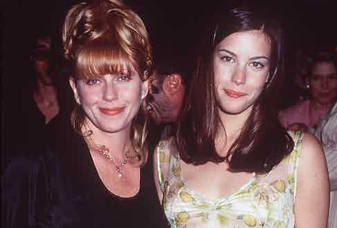 At Stealing Beauty Premiere with daughter Liv Tyler, 1996 (Credit Image: © Globe Photos/ZUMAPRESS.com)