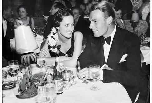 Randolph Scott attend an event in Los Angeles, California. (Photo by William Grimes/Michael Ochs Archives/Getty Images)