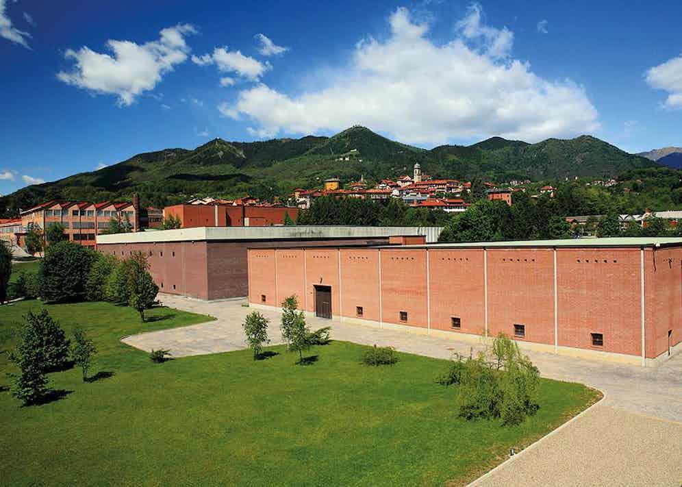 The vertiginous expanse in Biella, where the Vitale Barberis Canonico mill is based.