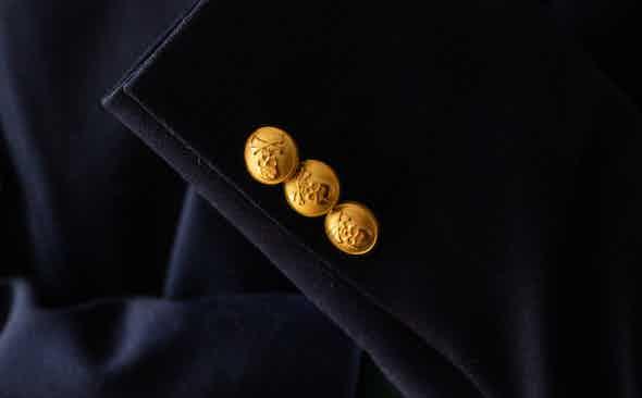 Benson & Clegg: Regaling in Brass Buttons
