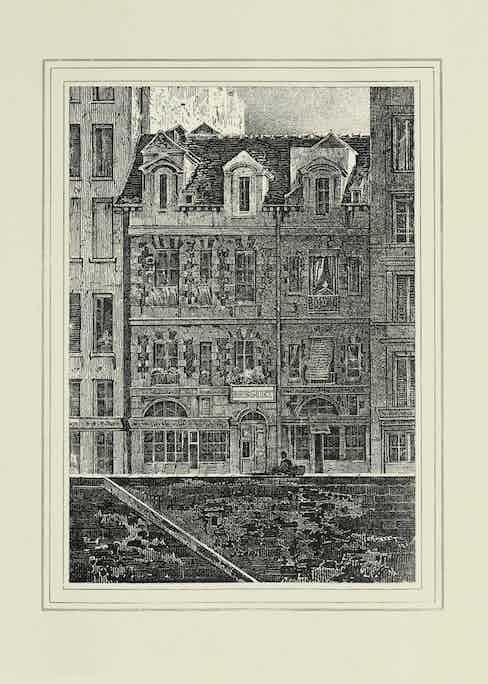 The house on Quai de l'Horloge where Abraham-Louis Breguet fulfilled his life's work