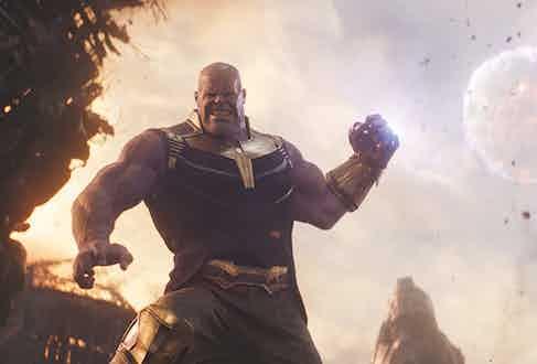 As Thanos in Avengers Photo by Walt Disney Studios/Moviestore/Shutterstock (9656345m)