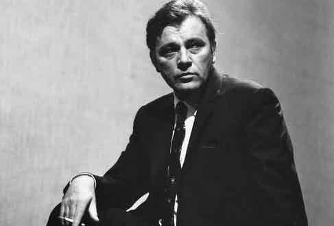 Welsh-born British actor Richard Burton, 1963  (Photo by Evening Standard/Getty Images)