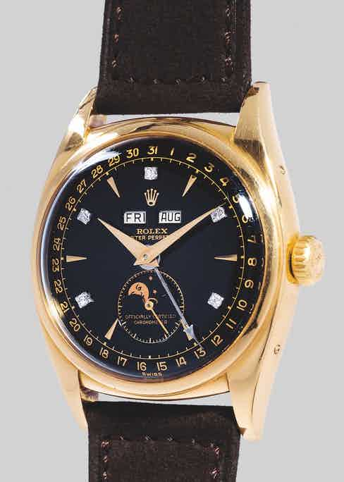 The Bao Dai Rolex ref. 6062, 1952, which sold at auction for $5,060,427 in 2017