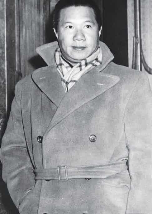 Bao Dai in London, 1947