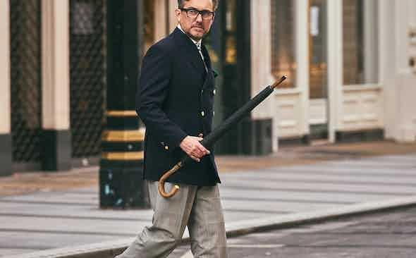 Kit Blake: Ahead of the trouser curve
