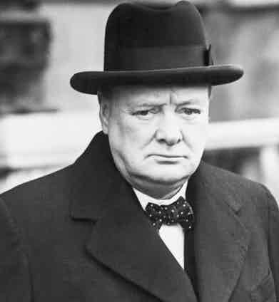 Winston Churchill as first Lord of the British Admiralty, 1939 (Image by © Bettmann/CORBIS)