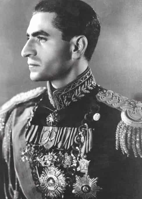 Mohammad Reza Pahlavi,the Shah of Iran, in 1953 (Photo by Keystone/Getty Images)