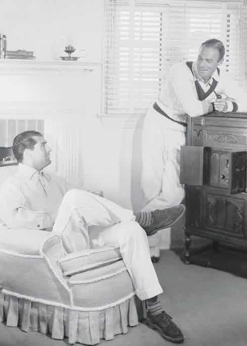 Randolph Scott and Cary Grant (Photo via Getty)