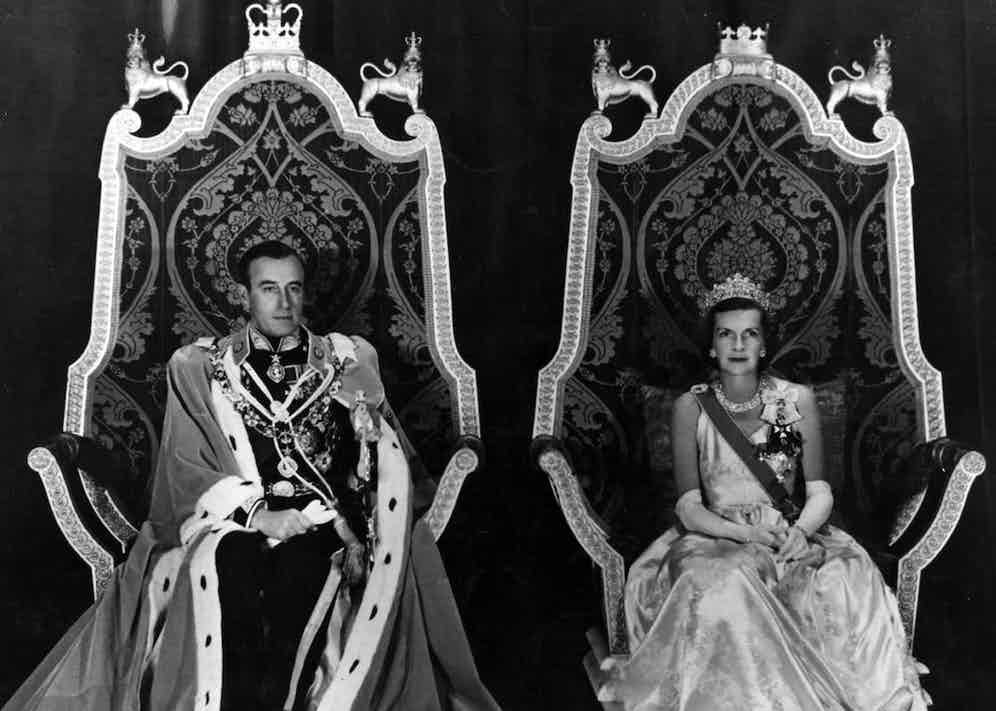 Viceroy and Vicereine of India 1948 (Photo by Fox Photos/Getty Images)