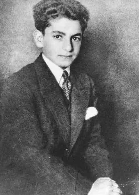 Shah Mohammad during his schooldays in Switzerland, 1931 (Photo by Picture Post/Hulton Archive/Getty Images)