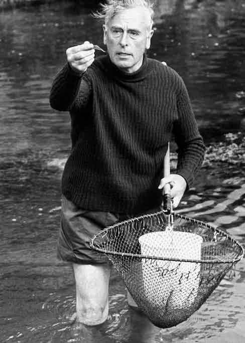 Prawning in Mullaghmore Harbour, 1963 (Photo by Allan Warren)