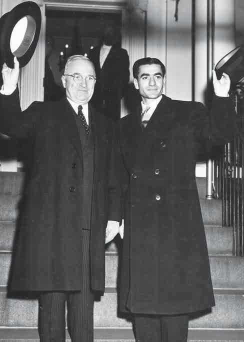 With U.S. President Harry Truman during a state visit in Washington, 1949  (Photo by State Department/PhotoQuest/Getty Images)