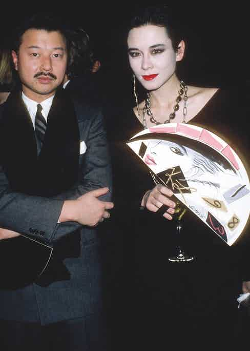 Michael Chow and Tina Chow circa 1983 in New York City. (Photo by PL Gould/IMAGES/Getty Images)