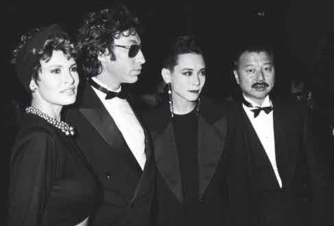 At the 14th Annual Costume Exhibit Benefit, 1985 (Photo by Ron Galella/WireImage)