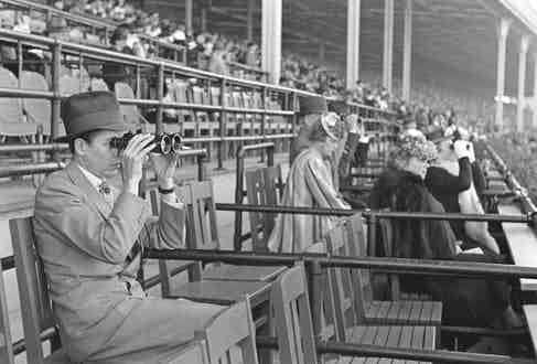 Alfred Gwynne Vanderbilt at the races, circa 1940 (Photo by Alfred Eisenstaedt/The LIFE Picture Collection/Getty Images)