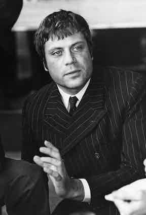 English actor Oliver Reed, 1969 (Photo by Bentley Archive/Popperfoto/Getty Images)