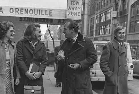 Oscar de la Renta, John B. Fairchild, Marion Javits and Happy Rockefeller in New York, 1972 Photo by Tony Palmieri/Penske Media/REX/Shutterstock (6986960d)