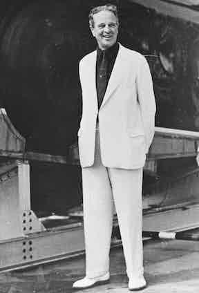 William Kissam Vanderbilt at his island estate in Florida, 1938 Photo by Granger/REX/Shutterstock (8765443a)