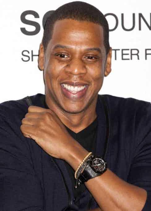 Jay-Z wearing the Royal Oak Carbon Concept