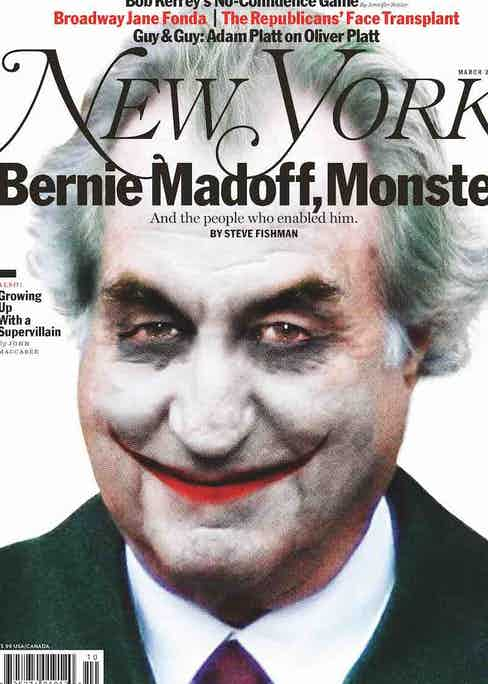 Cover of the New York magazine